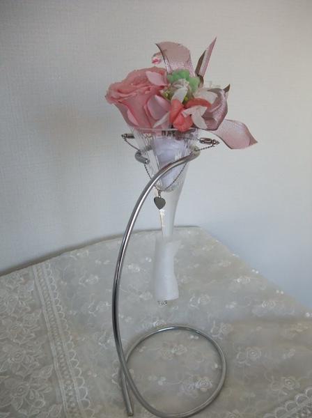 画像1: Heart tie preserved Bouquet