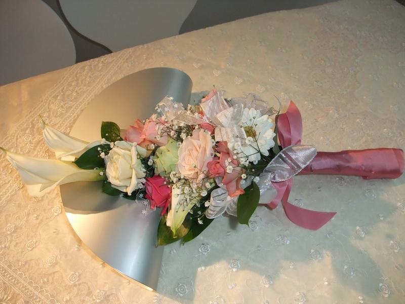 画像1: 両親への花束生花